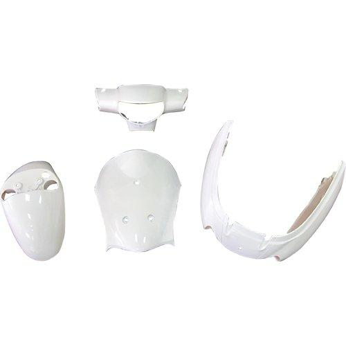 レッツ4 CA41A/CA45A/CA46A 外装4点セット ホワイト