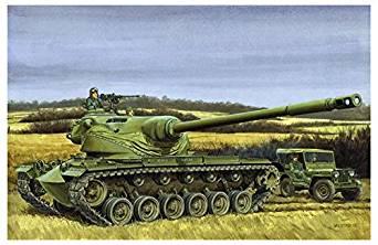 BL3560 1/35 アメリカ陸軍 試作戦車 T54E1 プラスチックモデルキット[cb]