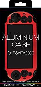 PS VITA 2000用軽量アルミケース セール特価品 レッド cb ALG-V2ALR 期間限定の激安セール