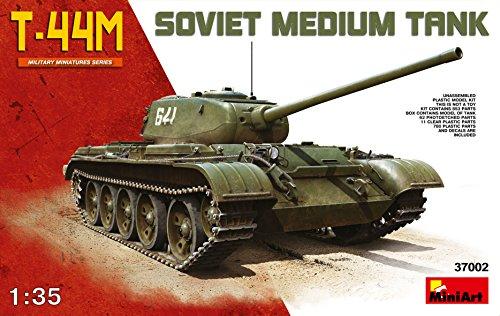 ミニアート 1/35 ソビエト T-44M中戦車 MA37002 プラモデル[cb]