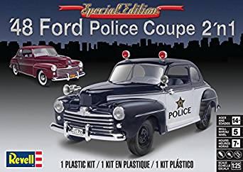 アメリカレベル 1/25 '48 フォード ポリスクーペ プラモデル[cb]