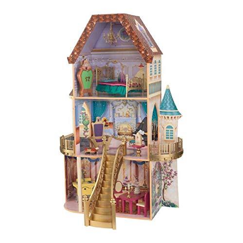 キッドクラフト (KidKraft) ディズニー プリンセス 美女と野獣 ベルのファンタジードールハウス 木製 正規品[cb]