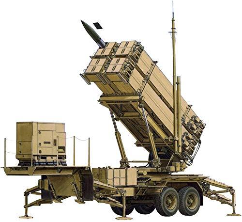 プラッツ 1/35 MIM-104Fパトリオット(ペトリオット) SAM PAC-3 M901発射機 プラモデル BL3563[cb]