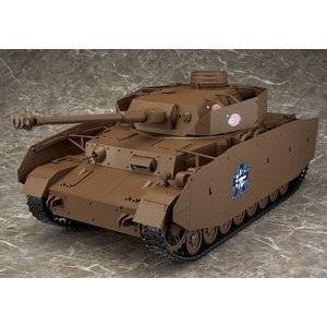 figma Vehicles 1/12 IV号戦車H型(D型改)(ワンダーフェスティバル2016[冬]、GOOD SMILE ONLINE SHOP限定)[cb]