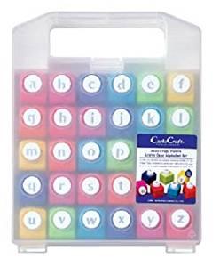 (まとめ買い) カール事務器 ミニクラフトパンチ アルファベット小文字 CN12-B 【×3】[cb]