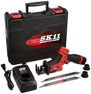 SK11 充電式レシプロソー 14.4V ケース・充電器・バッテリー付 SRS-144V-RLP[cb]