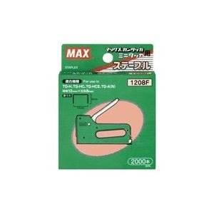 ( お徳用 20セット ) マックス マックス針タッカタイプ1208F2000本MS92639 2000本 ×20セット[cb]