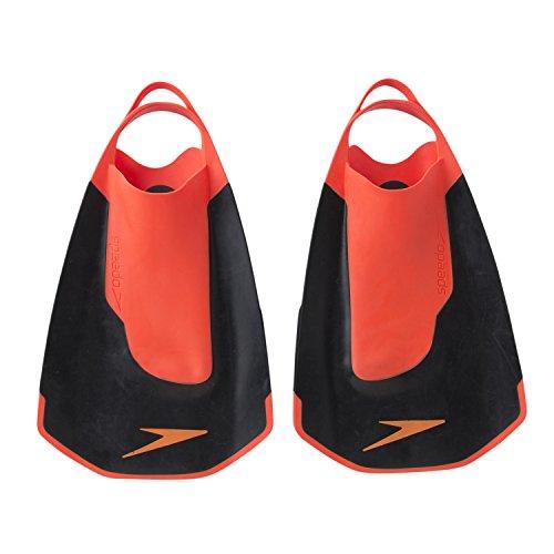 Speedo(スピード) 水泳 練習用 Fastskin キックフィン SD97A22 ブラック×レッド(KR) S[cb]