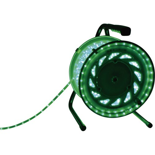 日動 LEDラインチューブドラム緑 RLL30SG[cb]