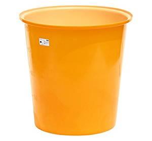 スイコー 丸型容器 M-200 (オレンジ)[cb]