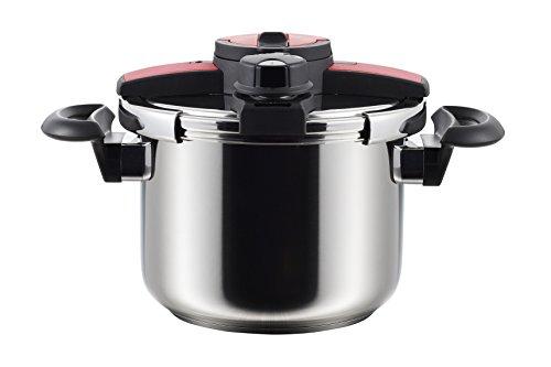 アオヤギコーポレーション NEWボルドー ステンレス両手圧力鍋 6L 23002[cb]