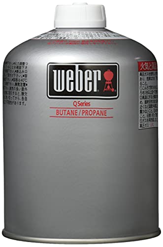 Weber(ウェーバー) キャンプQ専用純正LPガス燃料 17700【日本正規品】[cb]