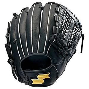 SSK(エスエスケイ) 野球 軟式ソフトボール兼用グラブ 軟式ゴッドナイン オールラウンド用 GNG810 90(ブラック)[cb]