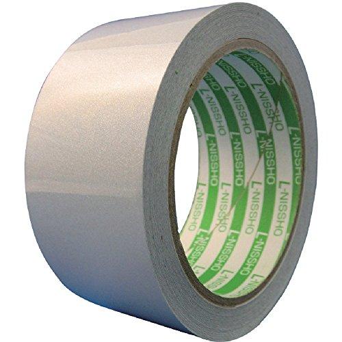 日東エルマテ 再帰反射テープ 300mmX10m ホワイト HT-300W 反射テープ[cb]