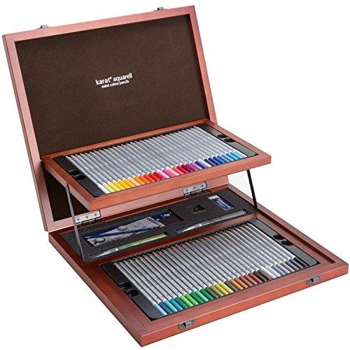 ステッドラー 色鉛筆 クリエイティブボックス カラト アクェレル 水彩 125 W60-1[cb]
