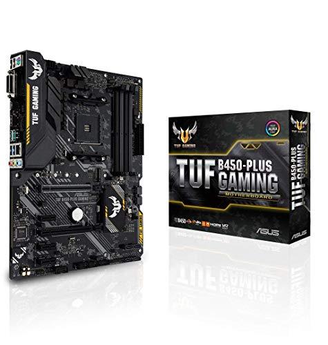 ASUS AMD B450搭載 AM4対応 マザーボード TUF B450-PLUS GAMING【ATX】[cb]