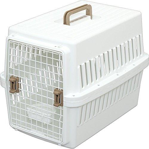 アイリスオーヤマ エアトラベルキャリー 中型犬用 ホワイト[cb]