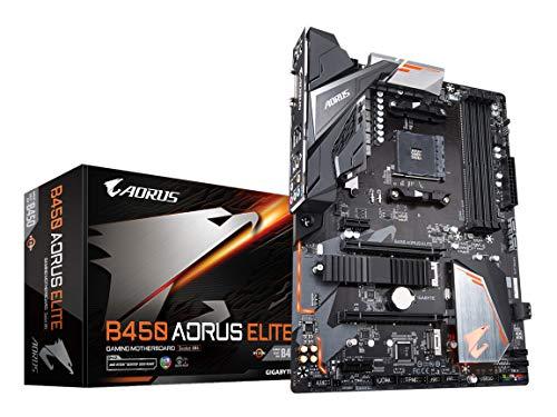 GIGABYTE B450 AORUS ELITE ATX ゲーミングマザーボード [AMD B450チップセット搭載] MB4624[cb]