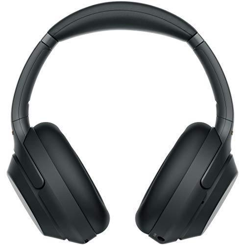 ソニー SONY ワイヤレスノイズキャンセリングヘッドホン WH-1000XM3 B : LDAC/Bluetooth/ハイレゾ 最大30時間連続再生 密閉型 マイク付 2018年モデル ブラック[cb]
