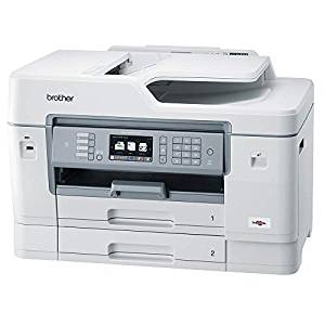 ブラザー プリンター 大容量インク型 A3 インクジェット複合機 MFC-J6997CDW (FAX/ADF/有線・無線LAN/給紙トレイ2段/両面印刷)[cb]
