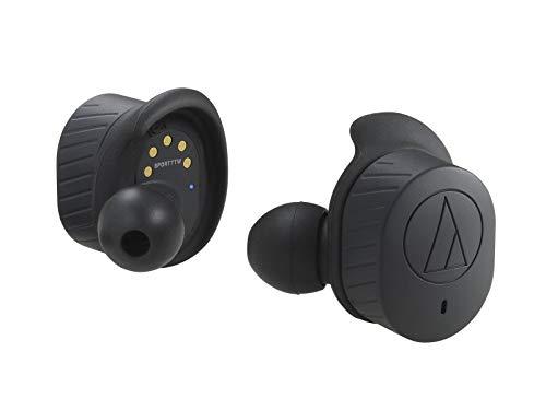オーディオテクニカ 完全ワイヤレス Bluetoothイヤホン(ブラック)audio-technica ATH-SPORT7TW-BK[cb]