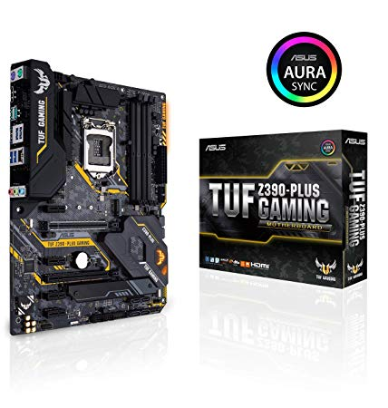 ASUS IntelR Z390搭載 LGA1151対応マザーボード TUF Z390-PLUS GAMING【ATX】[cb]