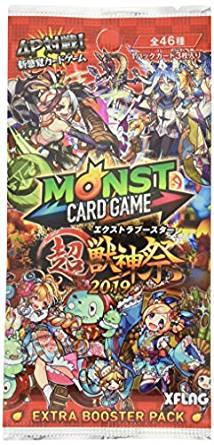 モンスターストライク カードゲーム エクストラブースター 超・獣神祭 2019 BOX[cb]