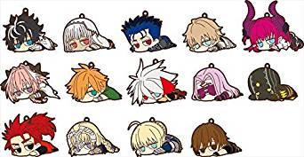 Fate/EXTELLA LINK だる~んラバーストラップコレクション Vol.1 BOX商品 1BOX=14個入り、全14種類[cb]