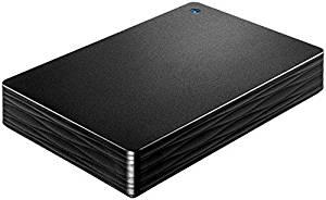 I-O DATA USB 3.1 Gen 1/2.0対応 ポータブルハードディスク 「カクうす Lite」 ブラック 5TB HDPH-UT5DKR[cb]
