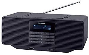 パナソニック ポータブルステレオCDシステム FM/AM 2バンド Bluetooth対応 ブラック RX-D70BT-K[cb]