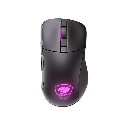 COUGAR ゲーミングマウス SURPASSION RX ワイヤレス DPI調整可能 LEDライト搭載 人間工学的デザイン CGR-SURPASSION ST 【国内正規品】[cb]