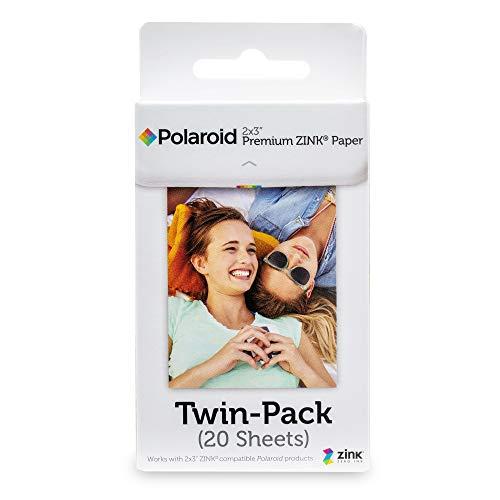 国内正規品 Polaroid オリジナル 最安値 ZINK POLZ2X320 Paper 20枚入り