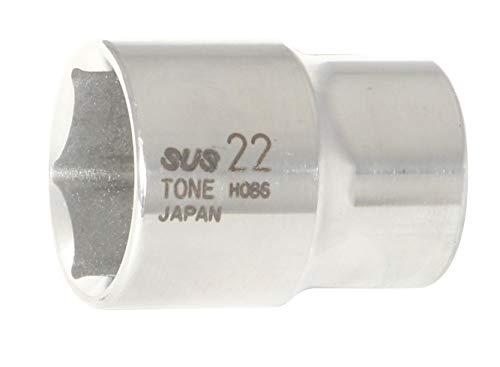 トネ TONE SUSソケット 6角 差込角12.7mm 1 S4V-22 2