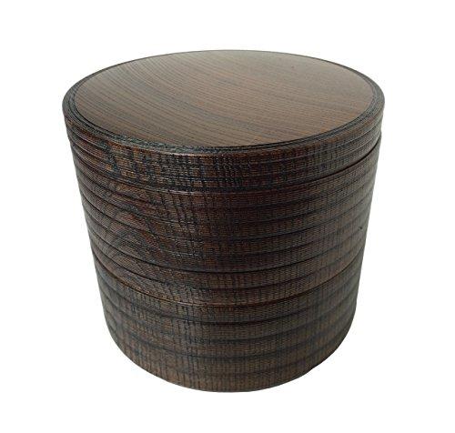 人気 毎日続々入荷 おすすめ 中谷兄弟商会 山中塗 二段丸重 欅工芸 W43-6