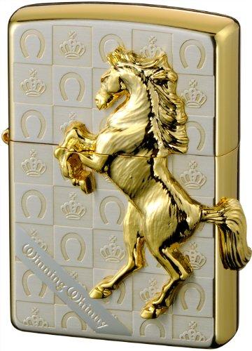 ZIPPO ジッポー ライター 200 ウイニングウィニー グランドクラウン シルバー × ゴールド