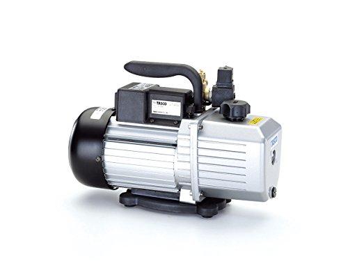 イチネンTASCO TA150RD オイル逆流防止機能付高性能ツーステージ真空ポンプ