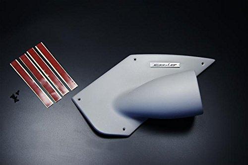 MONSTER SPORT ピラーメーターフードφ60/グレー・シボ塗装仕上げ ジムニー(JB23W)ジムニーシエラ(JB43W) 用 851520-5250M