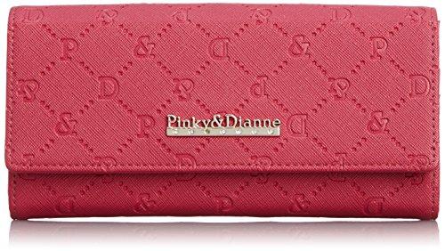 [ピンキーアンドダイアン] Pinky&Dianne サフィアーノエンボス 薄型長財布 PDLW4TT2 48 (ピンク)