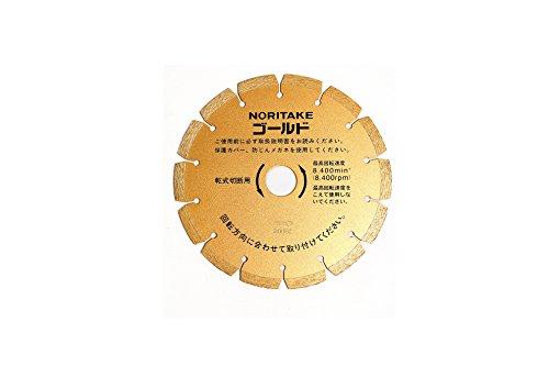 NCA ダイヤモンドカッター ゴールド 6インチ 155 切断用 155X2.0X25.4