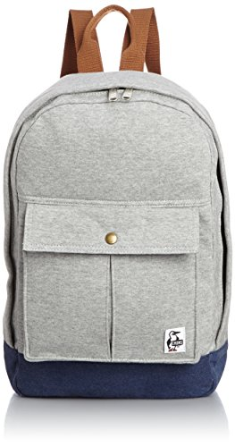 [チャムス] CHUMS Pleated Pocket Day Pack Sweat Canvas CH60-2024 G009 (H-Grey/Navy)