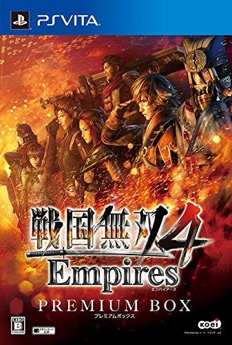 戦国無双4 Empires プレミアムBOX (初回封入特典(ダウンロードアイテム) 同梱) - PS Vita