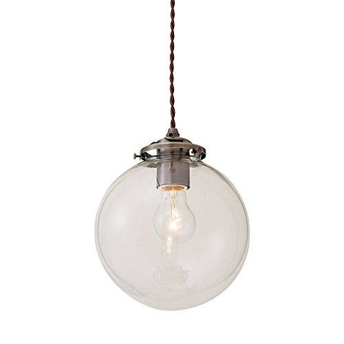 ペンダントライト 1灯 LED電球付属 Orelia(L) - オレリアL - クリア ~4.5畳 LT-1943CL インターフォルム(INTERFORM)