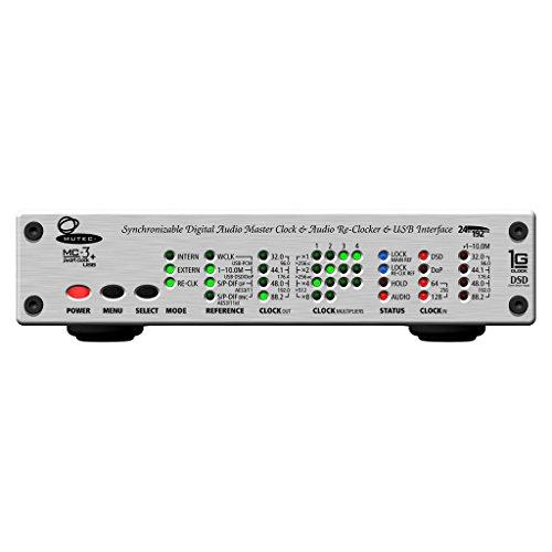 MUTEC MC-3+USB/Aluminum (USB デジタルオーディオ・マスタークロックジェネレーター) (アルミニウム)