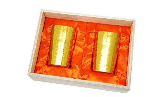 【最安値に挑戦】 HORIE(ホリエ) 窯創り 新潟県燕産 金 チタン2重タンブラー 窯創り HORIE(ホリエ) ライト 270cc 磨き 金 2個セット T09KM270MGGDSET, アンテナパーツshop:f15338a8 --- hortafacil.dominiotemporario.com