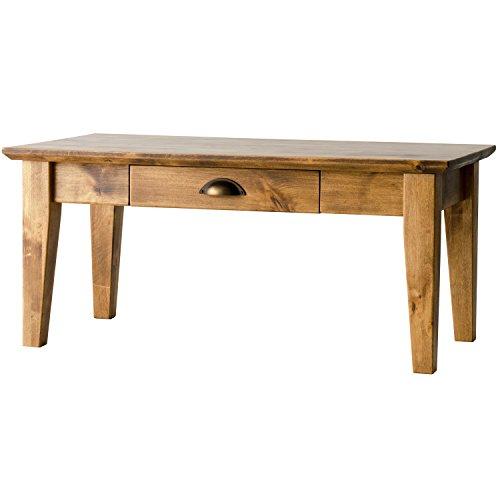 ライフスタイリングショップ ローテーブル ヴィンテージ 木製 天然木 センター 幅90cm AN-221