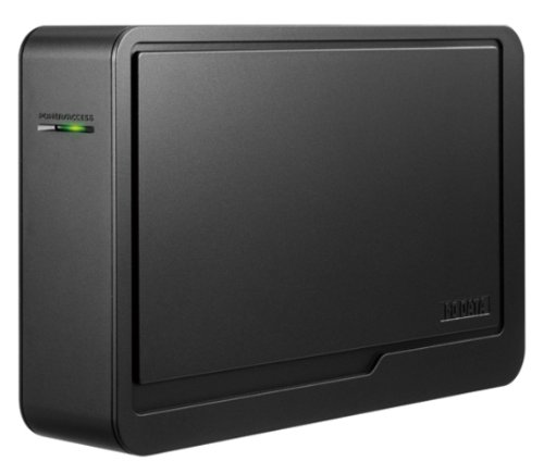 I-O DATA 東芝[レグザ]対応USB 2.0/1.1接続 外付型ハードディスク 500GB ブラックモデル HDCR-U500EK