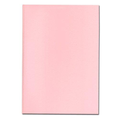 とじ太くん とじ太くん専用製本カバー全面紙ピンクカバーA5タテ 3mm