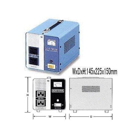 スワロー電機 海外用 交流定電圧電源装置 1.5KVA