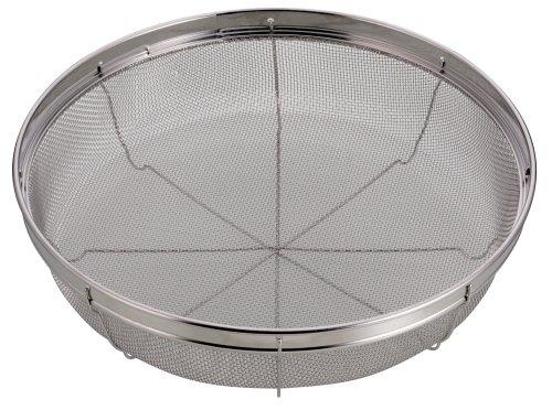 パール金属 アクアスプラッシュ ステンレス製 浅型 28cm H-9137 ザル 安全 国内在庫 キッチン