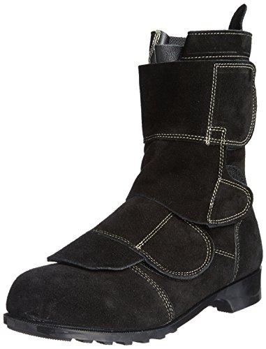 [ノサックス] Nosacks 溶接作業用安全靴 溶接プロ WD-700 BK(黒/JP26.5cm)